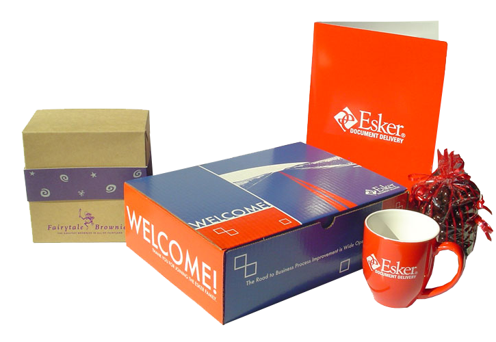 Esker Customer Welcome Packaging