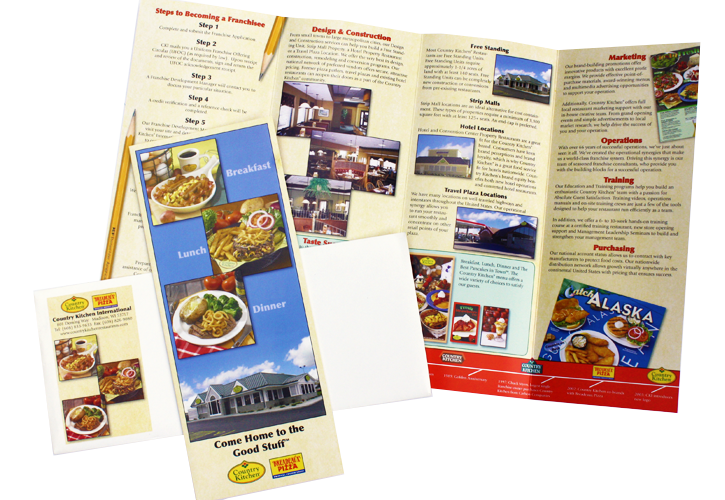 Country Kitchen Franchise Brochure