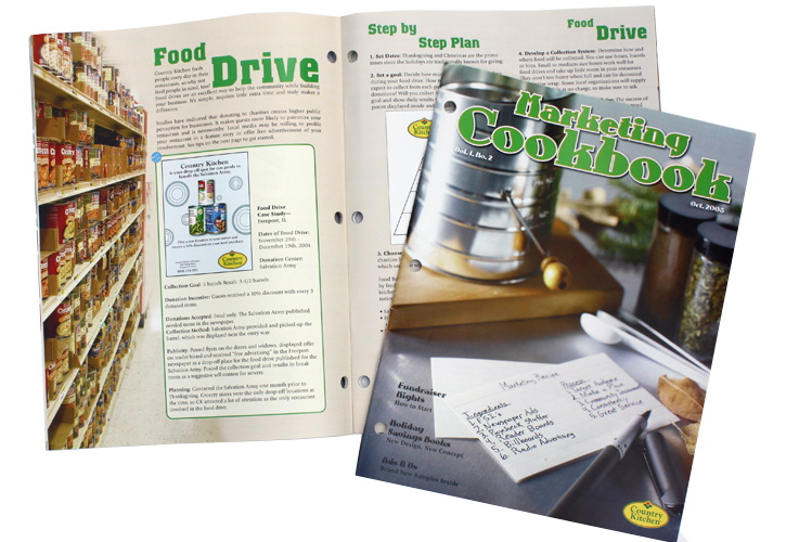 Country Kitchen Marketing Ideas Magazine For Franchisee's