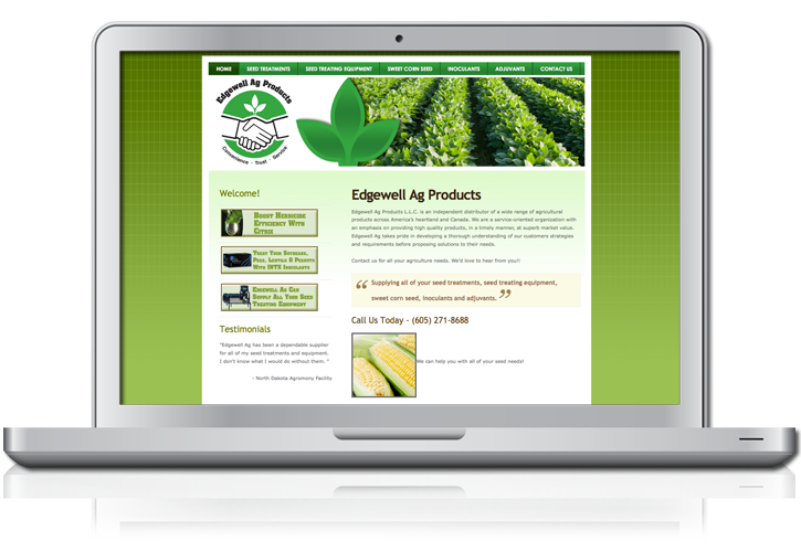 Edgewell Ag Website Design