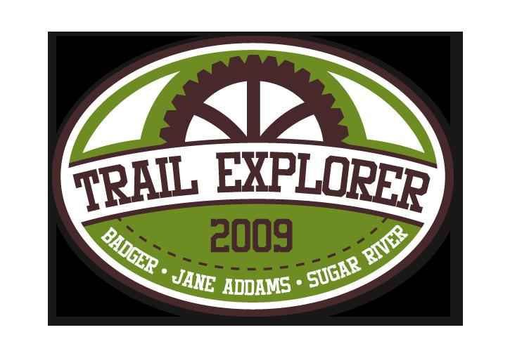 Green County Trail Logo Design