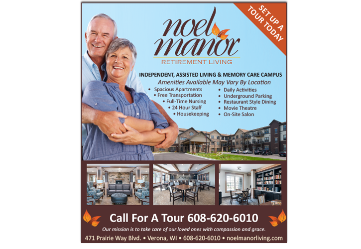 Noel Manor Retirement Living Newspaper & Magazine Advertisement Design