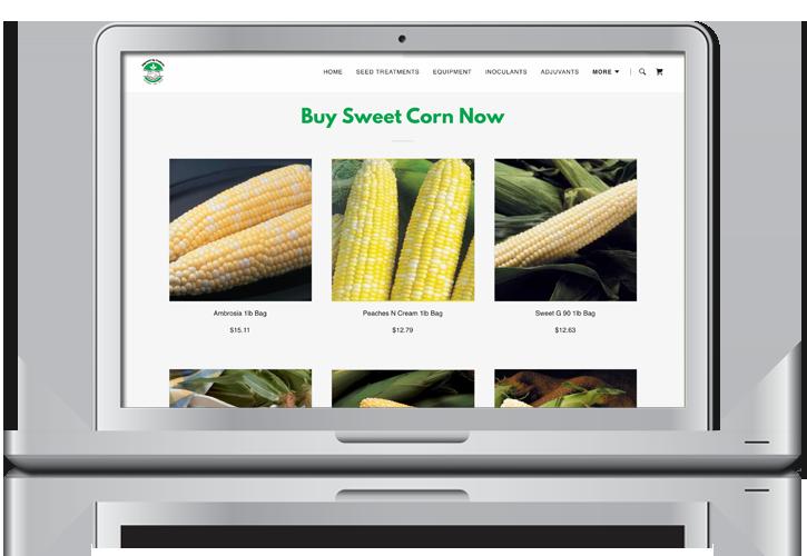 Edgewell Online Seed Store Website